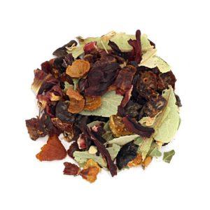 Herbata owocowa - lipa, malina