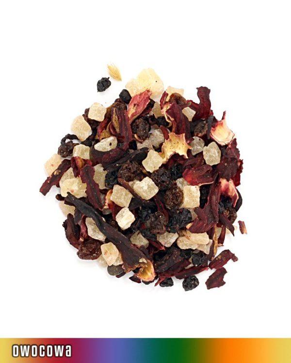 herbata owocowa wiśnia rum
