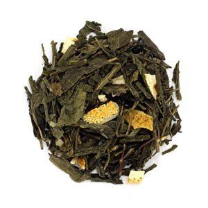 Herbata Sencha hiszpańska mandarynka