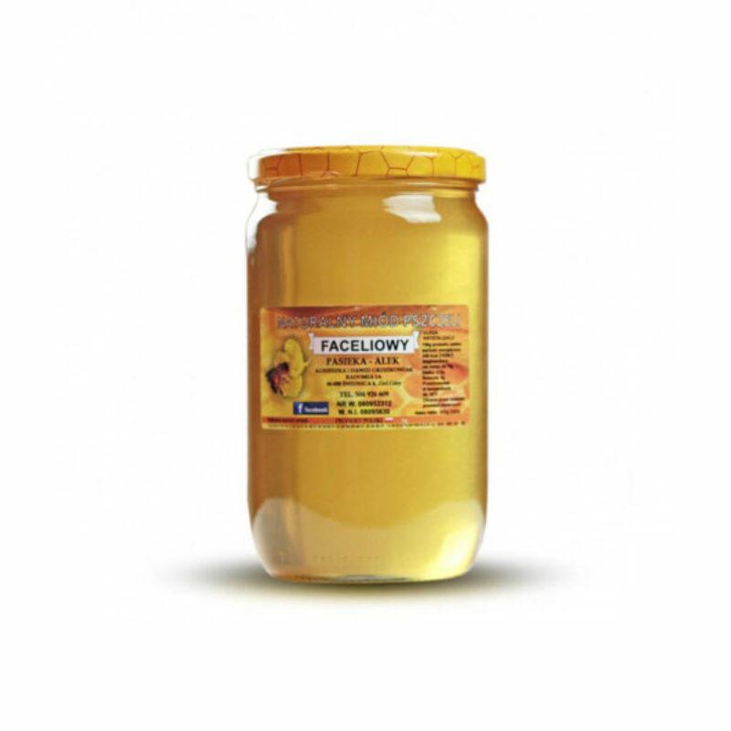 Miód faceliowy - 1kg