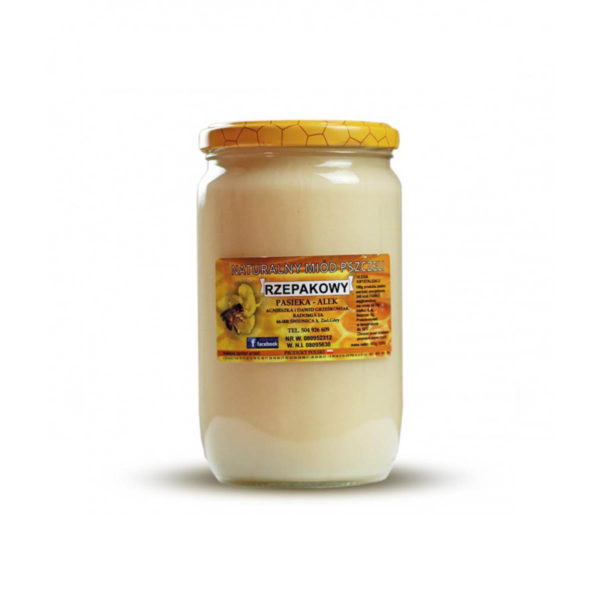 Miód rzepakowy - 1 kg - 1000 gram