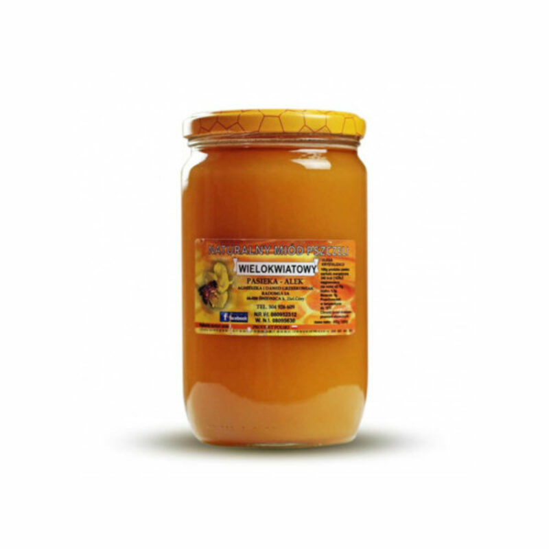 Miód wielokwiatowy - 1kg - 1000 g