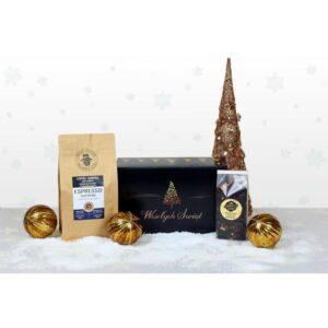 Zestaw prezentowy Kawa Espresso i Herbata świąteczna